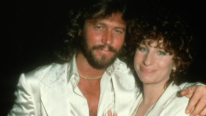 Barry Gibb and Barbra Streisand