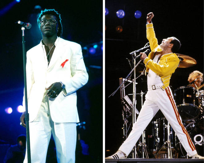 Seal and Freddie Mercury