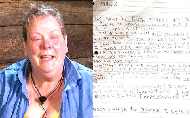 Anne Hegerty letter
