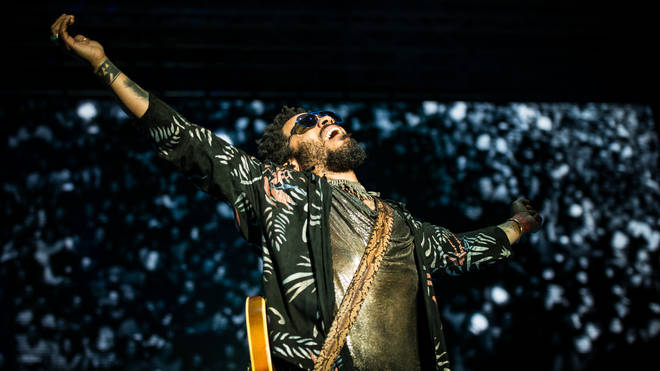 Lenny Kravitz performing live at the Lucca Summer Festival 2015. (Photo by Alessandro Bosio/Pacific Press/LightRocket via Getty Images)