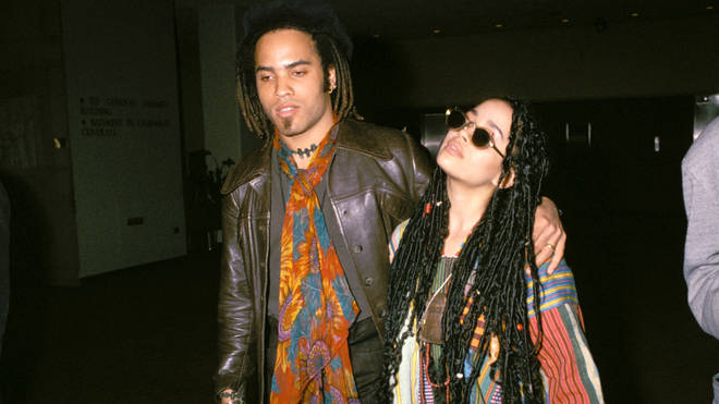 Lenny Kravitz and Lisa Bonet in NYC 1987 (Photo by Vinnie Zuffante/Getty Images)