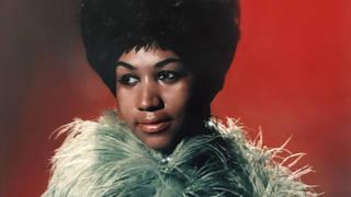 Aretha Franklin, singer, poses for portrait in 1960s