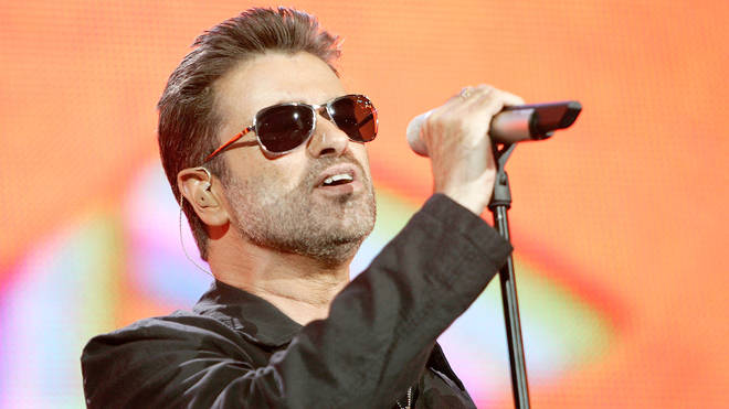 George Michael singing live in London in 2005