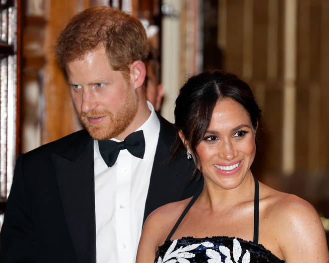 Harry and Meghan at the Royal Variety Performance 2018