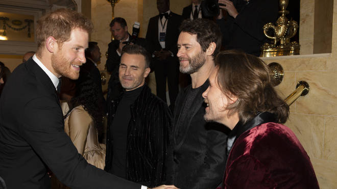 Harry and Take That