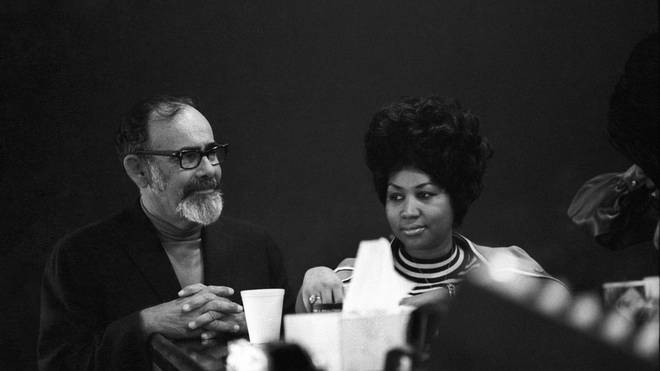 Jerry Wexler with Aretha Franklin in 1969