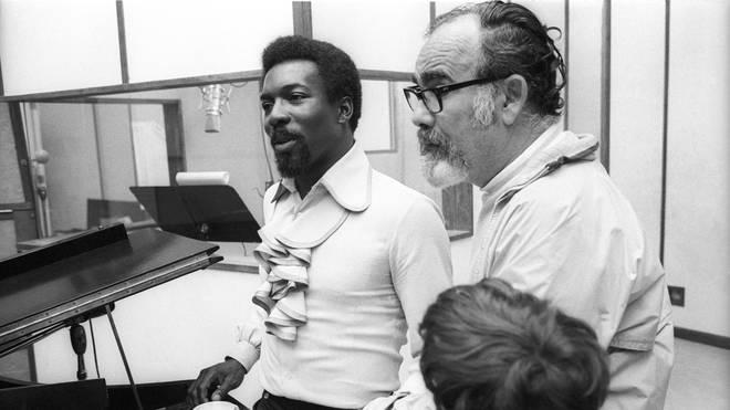 Jerry Wexler with Wilson Pickett