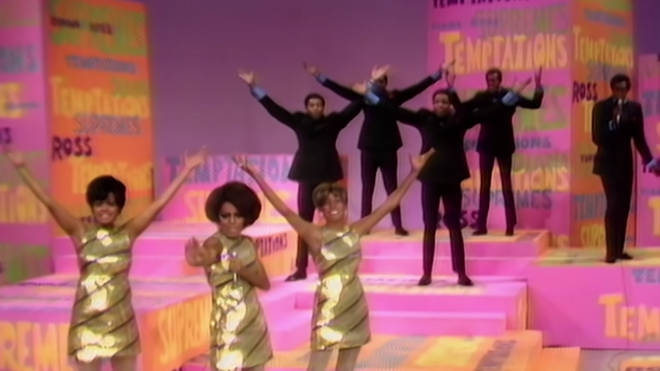 The Temptations and The Supremes teamed up for a mega hits medley