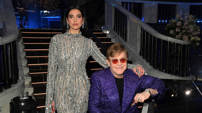 Elton John and Dua Lipa team up for incredible remix track featuring 'Sacrifice' and 'Rocket Man'