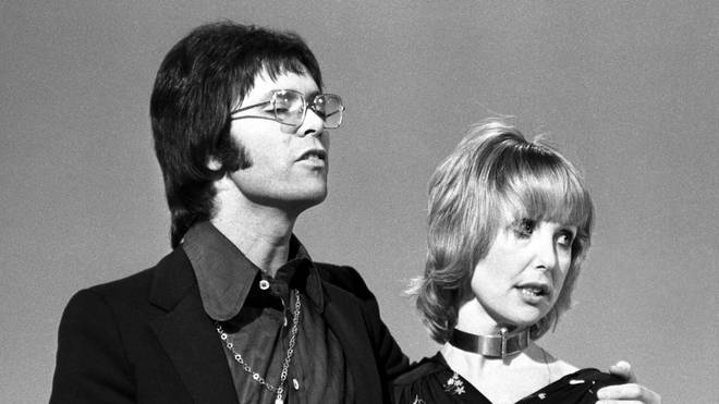 Una Stubbs and Cliff Richard in 1972