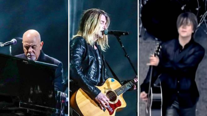 Billy Joel joined by Goo Goo Dolls' John Rzeznik for mesmerizing performance of 'Iris'