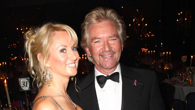 Noel Edmonds and Liz Davies in 2009