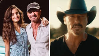 Tim McGraw's daughter appears in his new music video