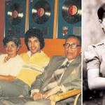 Freddie Mercury and his parents