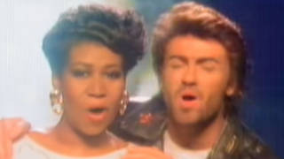 Aretha Franklin George Michael I Knew You Were Waiting (For Me) music video