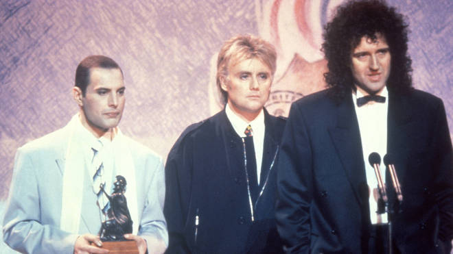 Queen at the 1990 Brit Awards