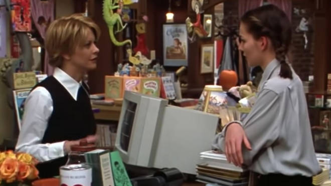 Meg Ryan and Heather Burns prepped for You've Got Mail by working in a real bookstore