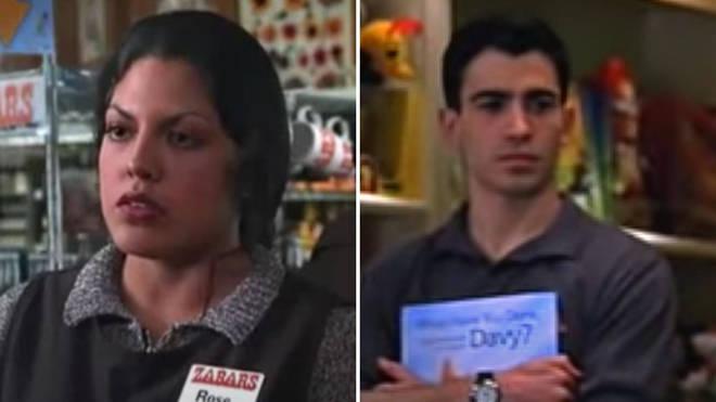 Chris Messina and Sara Ramirez star in You've Got Mail in 1998.
