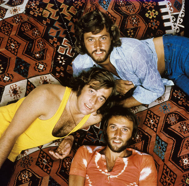 Bee Gees back together in 1971