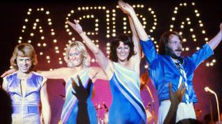 ABBA performing live at Wembley Arena, November 1979. (Photo: Polar Music/Universal)