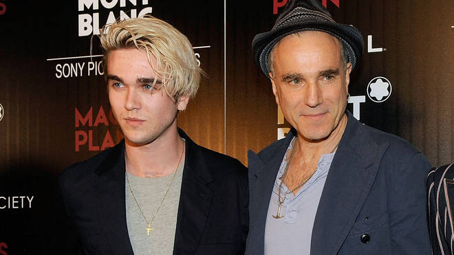 Daniel Day-Lewis and his son Gabriel