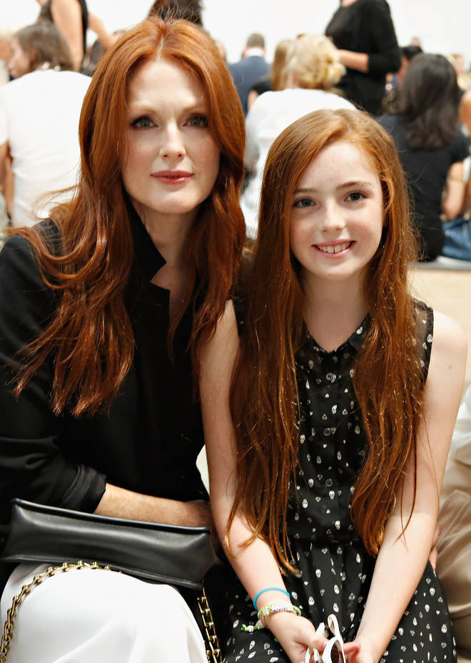 Julianne Moore and her daughter Liv