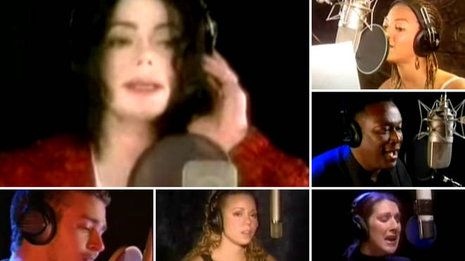 Michael Jackson's 'What More Can I Give' single