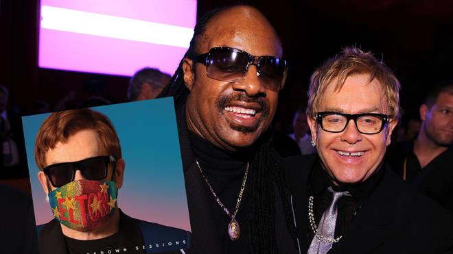 Elton John and Stevie Wonder