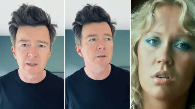 Rick Astley covers ABBA