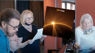 ABBA recording Voyage