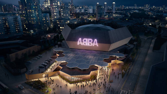 The first image of how the ABBA Arena will look.