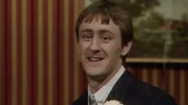 Rodney shares a poignant smile with Del before leaving