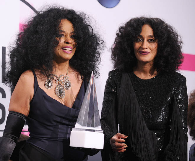 Diana and Tracee Ellis Ross in 2017