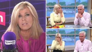 Kate Garraway gives emotional update on husband Derek, leaving Holly Willoughby in tears