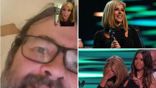 Kate Garraway shares video call with Derek after emotional NTAs documentary win - video