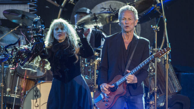 Fleetwood Mac live at Isle of Wight Festival in 2015.