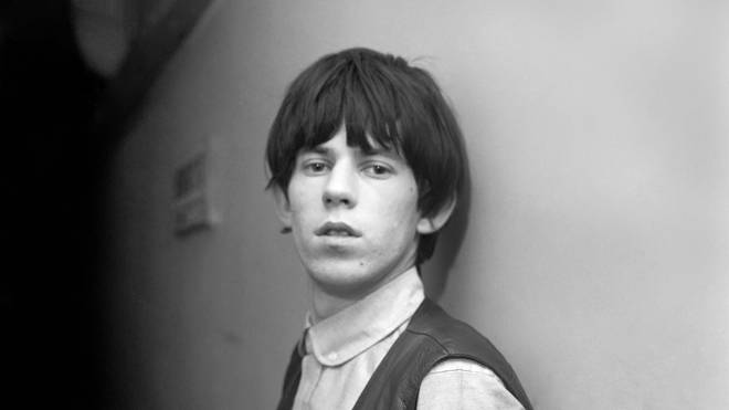 A young Keith Richards. (Photo by Daily Mirror/Mirrorpix/Mirrorpix via Getty Images)