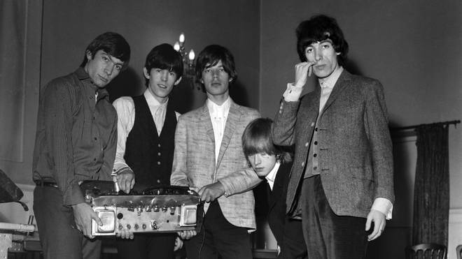 The Rolling Stones at The Public Hall, Preston in 1964. (Photo by Daily Mirror/Mirrorpix/Mirrorpix via Getty Images)