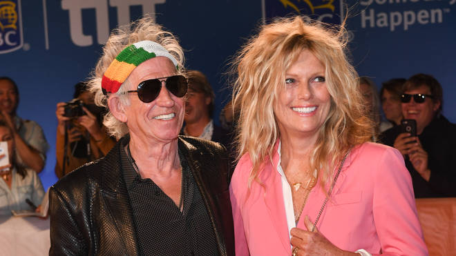Keith Richards and Patti Hansen at Toronto International Film Festival in 2016. (Photo by Sonia Recchia/Getty Images)