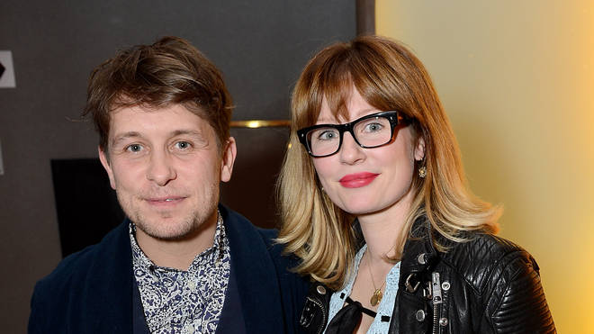 Mark Owen and Emma Ferguson in 2013