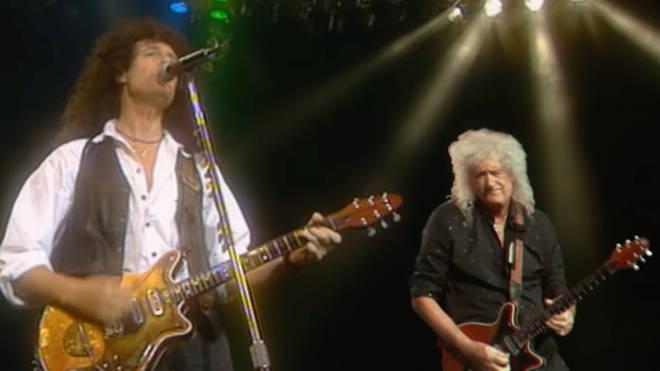 Brian May duets with Brian May
