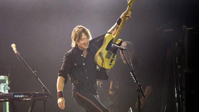 Keith Urban headlining Country to Country (C2C) at The O2 Arena in London, 2019 in London. (Photo by Rob Ball/WireImage)