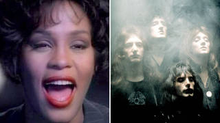 Whitney Houston in the 1992 video for 'I Will Always Love You', and Queen in their 1975 video for rock epic 'Bohemian Rhapsody'