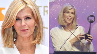 Kate Garraway wins special award celebrating over 20 years in broadcasting at TRIC Awards