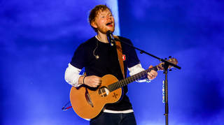 Ed Sheeran headlining Sziget Festival in Budapest, 2019. His concert was the biggest sold out in the whole history of this festival. (Photo by Luigi Rizzo/Pacific Press/LightRocket via Getty Images)