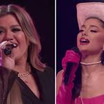 John Legend, Blake Shelton, Kelly Clarkson and Ariana Grande's stunning performance of Aretha Franklin's 'Respect'