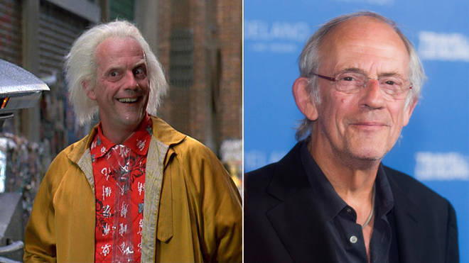 Christopher Lloyd played Doc Brown in Back to the Future