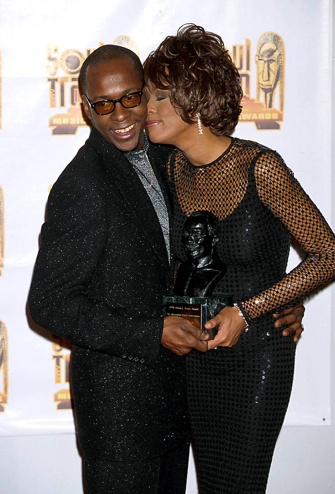 Whitney Houston and Bobby Brown were together for 15 years