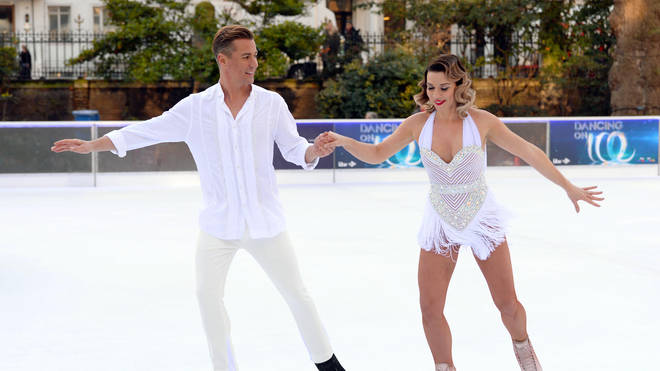 Candice Brown appeared on Dancing on Ice in 2018