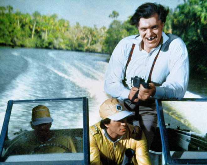Jaws appeared in two of Roger Moore's Bond movies
